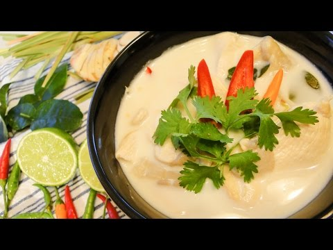 Thai Coconut Chicken Soup ต้มข่าไก่ – Episode 25