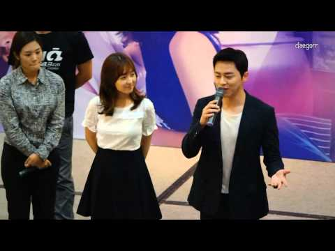 "[Full] 150904 조정석 (Cho Jung Seok), 박보영 (Park Bo Young) - 오나귀 싱가폴 팬밋 ""Oh my Ghost"" Singapore fan meet"