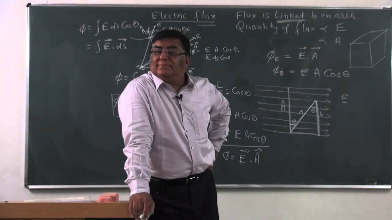Xii 1 12 physics pradeep kshetrapal 2014 electric flux and gauss theorem youtube