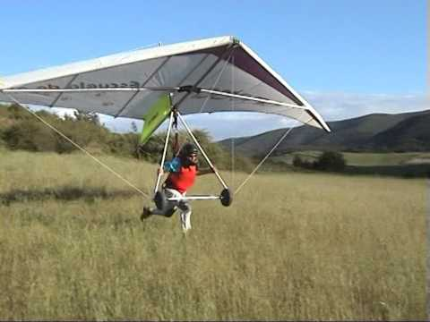 Curso de Ala Delta en sus 4 primeros dias / The first 4 days of Hang Gliding course