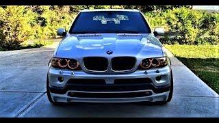 BMW X5 E53 РЕМОНТ РУЛЕВОЙ РЕЙКИ !