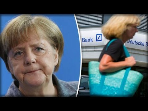 BANK COLLAPSE: DEUTSCHE BANK STOCK PLUNGES TO ALL TIME LOW AFTER MERKEL REJECTS BAILOUT