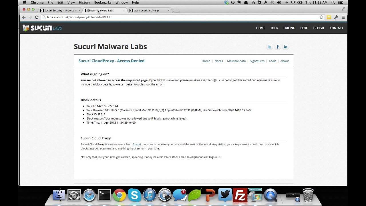 Using the Whitelist Feature for Admin Panel | Sucuri Docs