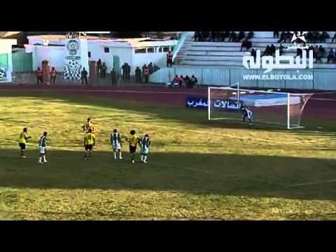 فيديو- اهداف مباراة أولمبيك خريبكة 2-1 شباب أطلس خنيفرا