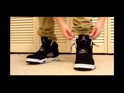 Jordan 5 Oreo Review and On Foot