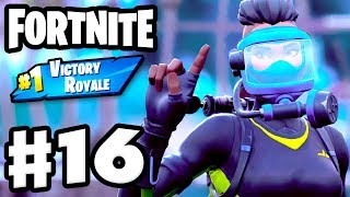 Reef Ranger Dive Master! Squads #1 Victory Royale! - Fortnite - Gameplay Part 16