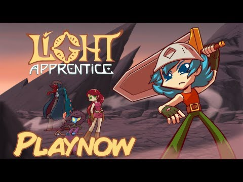 PlayNow: Light Apprentice - The Comic Book RPG   PC Gameplay