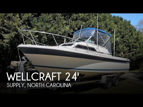 Used 1983 Wellcraft 248 Sportsman for sale in Supply, North Carolina