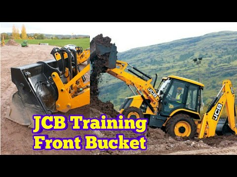 How to operate JCB 3cx front bucket full training in Urdu/Hindi