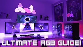 Building the Ultimate Gaming Setup with RGB Lighting (Guide)