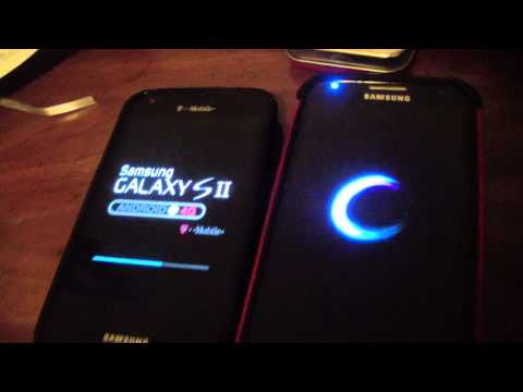 Samsung Galaxy S2 vs Samsung Galaxy S4 Power Reboot Test