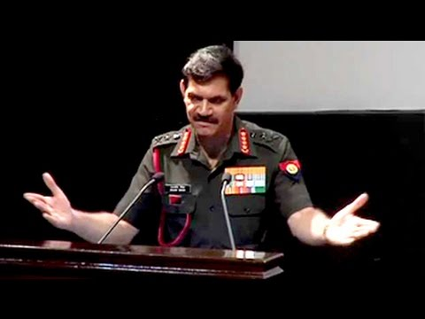 Don't clap, you are in uniform: Army chief to officers