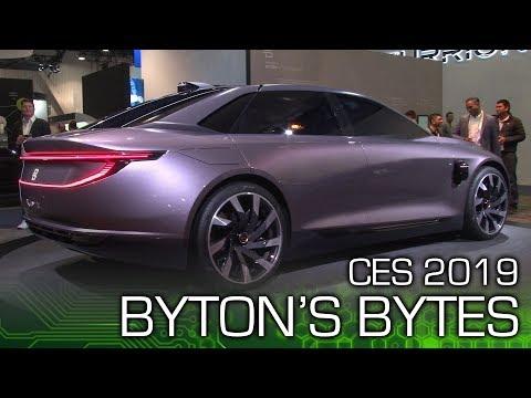 BYTON M-Byte & K-Byte - CES 2019