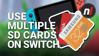 How to Use 2 or More Micro SD Cards on Your Nintendo Switch - Unlimited Storage!