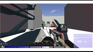 ROBLOX: FPS Testing Alpha | 18-0 with MSR and everybody leaves