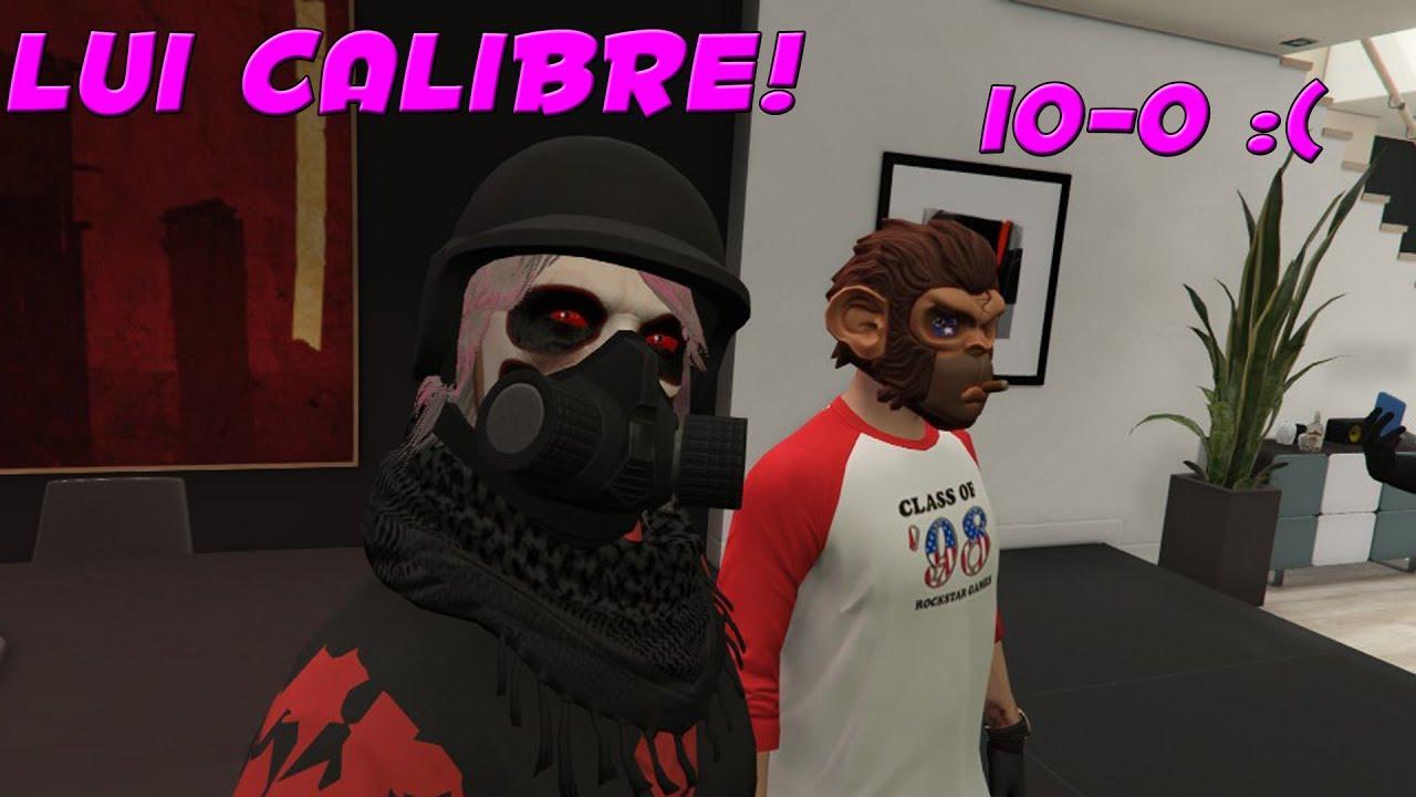 I MET THE REAL LUI CALIBRE!!! (GTA 5 ONLINE)