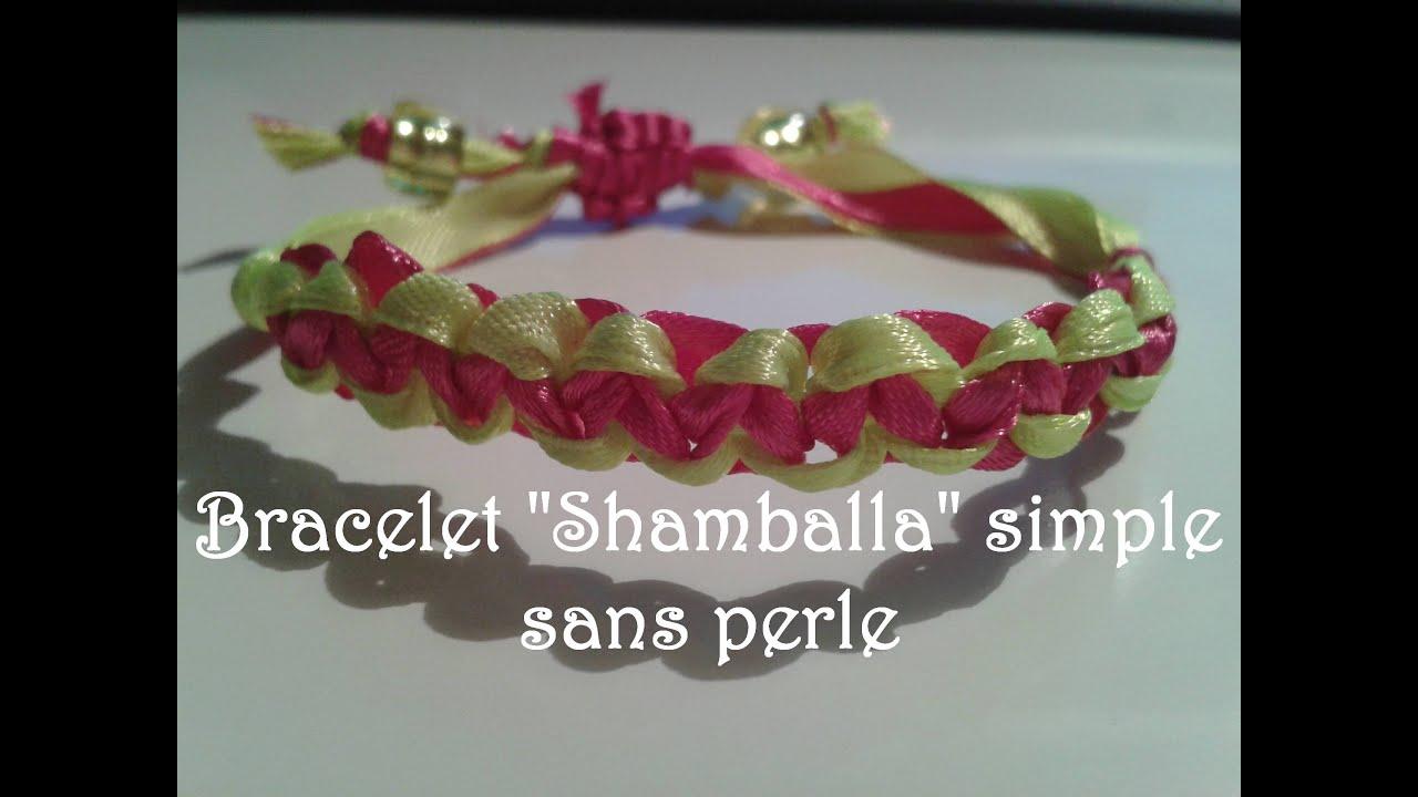 tuto 11 bracelet en ruban shamballa sans cordon ni perles fr youtube. Black Bedroom Furniture Sets. Home Design Ideas