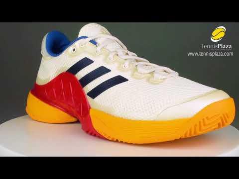 buy online d70fd 49070 adidas Barricade 2017 Pharrell Williams 3D View  Tennis Plaza Review