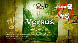 Left 4 Dead 2 XBOX 360 - En Directo #LIVE CONSEJOS GUIA Dead Center Cold Stream The Parish Versus 5
