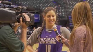 UW Women's Basketball Road to the Final Four
