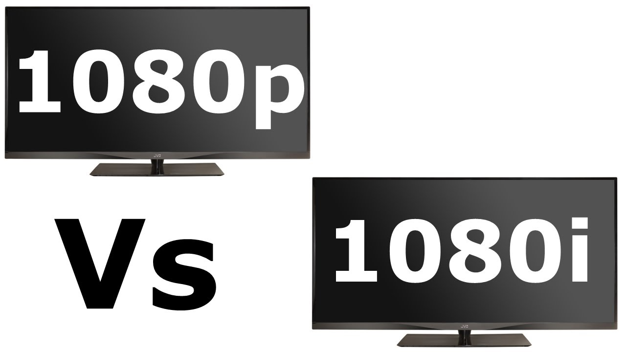 1080p vs 1080i youtube