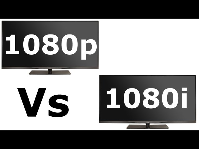 1080i vs 1080p resolution wiki