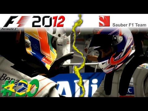 F1 2012 KARRIERE #20: KajeMG vs. Lewis Hamilton!