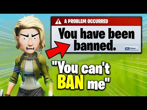I Pretended I BANNED My Friend... They Believed Us (Fortnite)