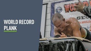 World Record 8 HOUR plank