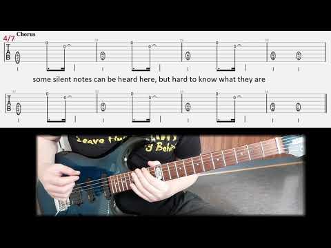Iron Maiden The Prisoner Rhythm Guitar Lesson