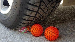 EXPERIMENTS CAR vs Anti Stress Balls
