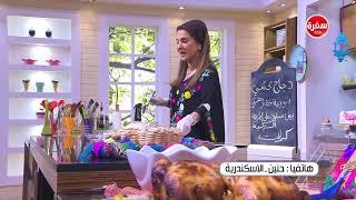 بيض مسلوق على الطريقة التركية  -  دجاج محشي بالبطاطس  ووصفات اخرى   زعفران وفانيلا (حلقة كاملة)