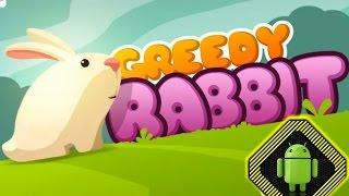Динамичная аркада,как можно быстрее съешь все овощи,найди выход в игре для android Жадный кролик!