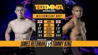 BAMMA London: James Reedman vs Tommy King