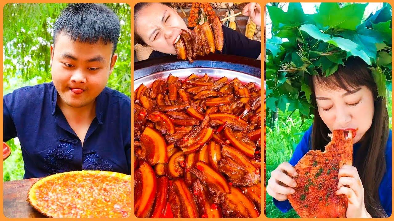 Thánh Ăn Đồ Siêu Cay Trung Quốc P16  |Tiktok China | Trân Châu Đen