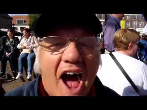 Brandersfeesten Schiedam: Vrolijke liedjes met Shantykoor De Stormvogels uit Rotterdam