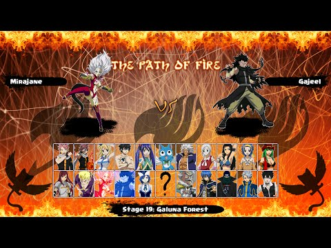 Mugen Fairy Tail: The Path Of Fire 2016