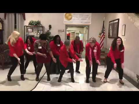 Mercy Health System 2018 Go Red Dance Video