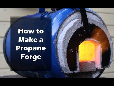 How To Make A Propane Forge Youtube
