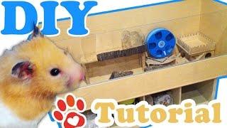 Hamstergehege selber bauen ♥ Eigenbau XXL