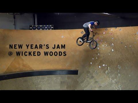 BMX New Year's Jam @Wicked Woods