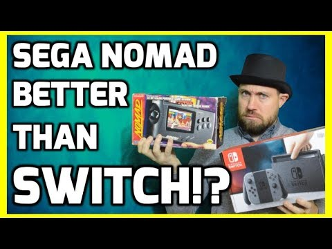 Is The Sega Nomad Better Than The Nintendo Switch !? - Top Hat Chat