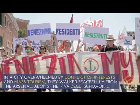 "#MiNoVadoVia:Venice, 2000 people, one voice: We're ""not going anywhere"" | Venezia Autentica"
