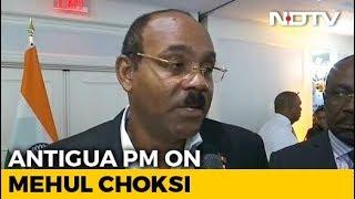 India Must Take Responsibility: Antigua PM On Mehul Choksi's Citizenship