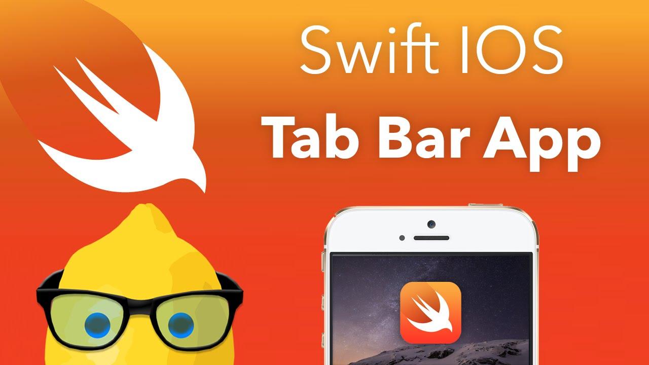 Swift IOS Tutorial Tab Bar Application - XCode 6 IOS 8 Geeky Lemon  Development