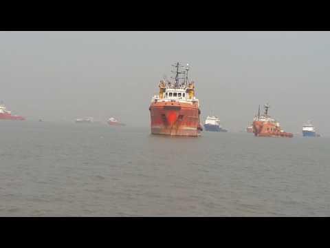 Mumbai port .rupsa karmakar.