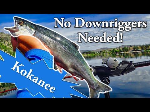 Deep Water Kokanee Without Downriggers