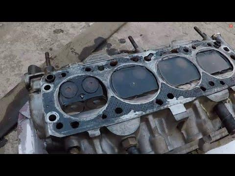 Погнуло клапана.Замена головки(ГРМ) Ланос 1.6.Skoda Octavia А 5.VW B 5-ГРМ.