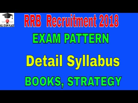 RRB ALP Recruitment 2018 detail Syllabus, BOOKS,  STRATEGY, RRB ALP 2018