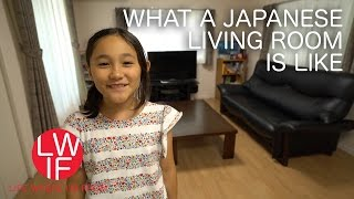 What a Japanese Living Room is Like